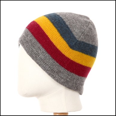 three wide stripe toque unlined_primary colors_7532